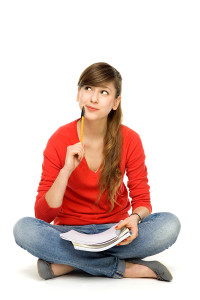 bigstock-Female-student-thinking-29443847